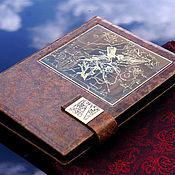 Ежедневники ручной работы. Ярмарка Мастеров - ручная работа Книга для записей со сменным блоком. Handmade.