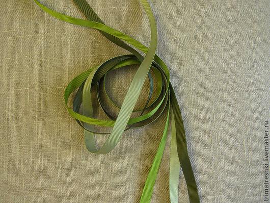 Шитье ручной работы. Ярмарка Мастеров - ручная работа. Купить Лента репсовая 9 мм. Handmade. Разноцветный, лента репсовая