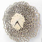 Для дома и интерьера handmade. Livemaster - original item Wooden wall clock
