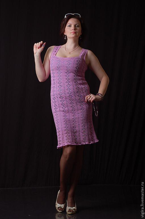 """Платья ручной работы. Ярмарка Мастеров - ручная работа. Купить Платье """"Лилия"""". Handmade. Бледно-розовый, ручная работа"""