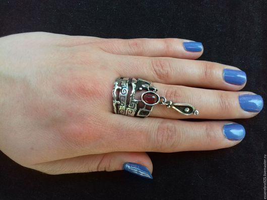 Кольца ручной работы. Ярмарка Мастеров - ручная работа. Купить Серебряный кольцо 925.Этнический стиль. Handmade.