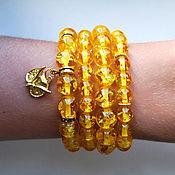 Украшения handmade. Livemaster - original item Amber bracelets. Handmade.