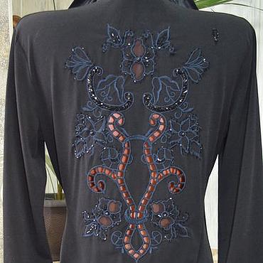 """Одежда ручной работы. Ярмарка Мастеров - ручная работа Блузка вышитая """"Комплимент"""". Handmade."""