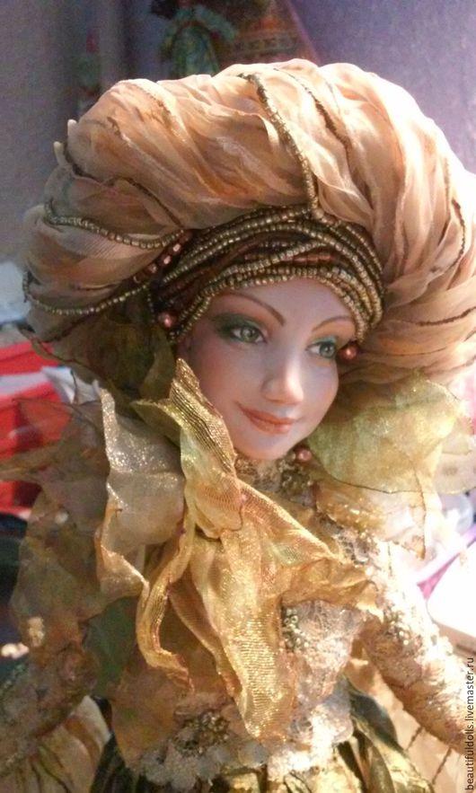 Коллекционные куклы ручной работы. Ярмарка Мастеров - ручная работа. Купить Счастливая Осень. Handmade. Комбинированный, настроение, ЛивингДолл