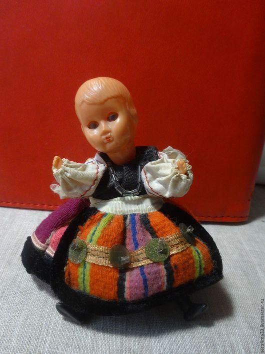 Народные куклы ручной работы. Ярмарка Мастеров - ручная работа. Купить Куколка винтажная. Handmade. Комбинированный