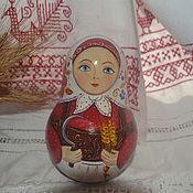 Куклы и игрушки ручной работы. Ярмарка Мастеров - ручная работа Неваляшка с колосками. Handmade.