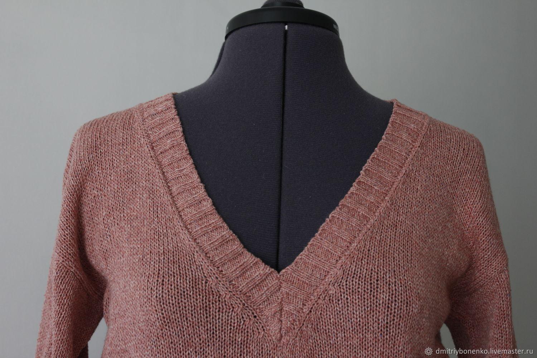 Jersey de seda marrón ' Berry glade', Jumpers, Kaluga,  Фото №1
