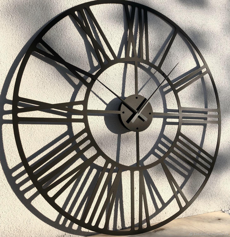 """Часы большие 140см """"Rooma S"""" (чёрные), Часы классические, Санкт-Петербург,  Фото №1"""