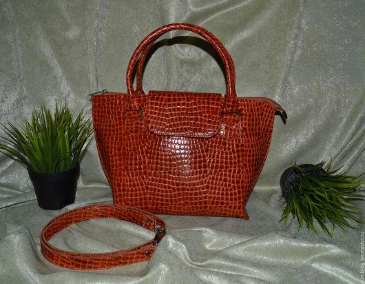 Женские сумки ручной работы. Ярмарка Мастеров - ручная работа. Купить Модель 52. Handmade. Женская сумка, сумочка из кожи