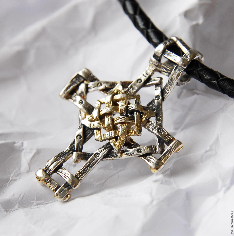 ' Guardian' - pendant-cross, Pendant, Kurgan,  Фото №1