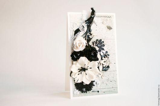 Авторская открытка Black and white.