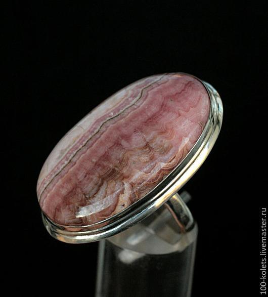 Кольца ручной работы. Ярмарка Мастеров - ручная работа. Купить Кольцо с родохрозитом. Handmade. Розовый, натуральные камни
