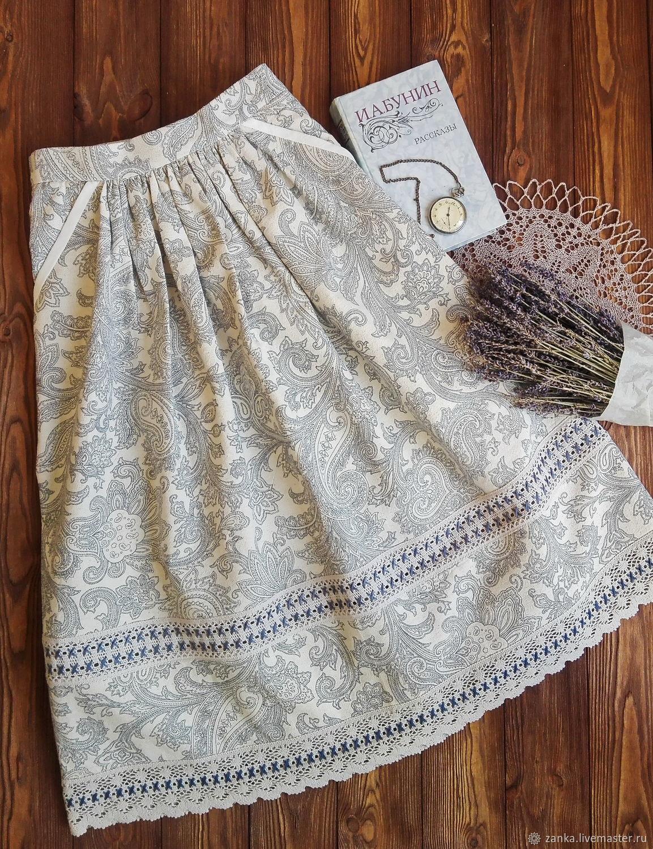 The skirt 'Summer wind', Skirts, Baranovichi,  Фото №1