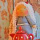 Вальдорфская игрушка ручной работы. Куклы вальдорфские. Беляночка и Рыжуля. Куклы и игрушки  (loskytistorii). Интернет-магазин Ярмарка Мастеров.