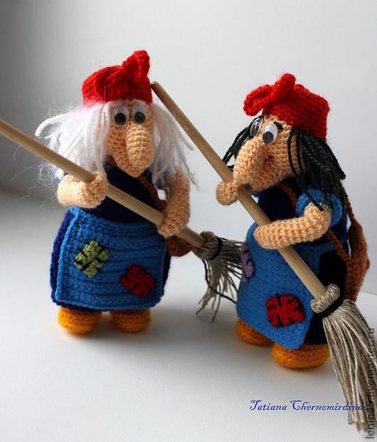 Сказочные персонажи ручной работы. Ярмарка Мастеров - ручная работа. Купить Баба-яга. Handmade. Баба яга, готовые глазки