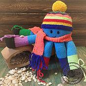 Куклы и игрушки ручной работы. Ярмарка Мастеров - ручная работа Осьминожка. Handmade.