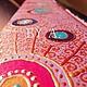 """Зеркала ручной работы. Зеркало в индийском стиле точечная роспись """"Павлин"""". Алёна Харитонова. Интернет-магазин Ярмарка Мастеров."""