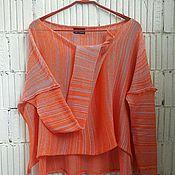 Одежда handmade. Livemaster - original item КН_003л_оранж-Astra Blouson