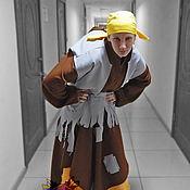 Одежда handmade. Livemaster - original item Baba-Yaga. Animator-actor suit. Handmade.