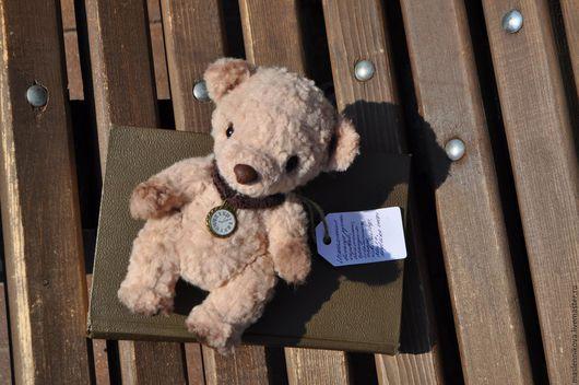 Мишки Тедди ручной работы. Ярмарка Мастеров - ручная работа. Купить Медведь Луи (16см). Handmade. Бежевый, тедди медведь