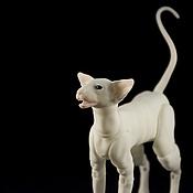 Куклы и игрушки ручной работы. Ярмарка Мастеров - ручная работа Шарнирный кот Ориентал 3D печать. шарнирная кукла кот БЖД. Handmade.