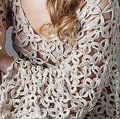 Свадебный салон ручной работы. Ярмарка Мастеров - ручная работа Вязаное платье в стиле Бохо. Handmade.