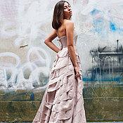 Свадебный салон ручной работы. Ярмарка Мастеров - ручная работа Свадебное платье из шелка. Handmade.