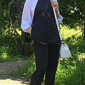 Одежда ручной работы. Ярмарка Мастеров - ручная работа Костюм брючный из шелка. Handmade.