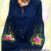 Одежда handmade. Livemaster - original item embroidered shirt. Handmade.