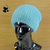 Аксессуары handmade. Livemaster - original item Elegant ladies hat made of fur Finnish mink. Art.DF-29. Handmade.