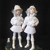 Куклы и игрушки ручной работы. Ярмарка Мастеров - ручная работа Соразмерный образ мой. Handmade.