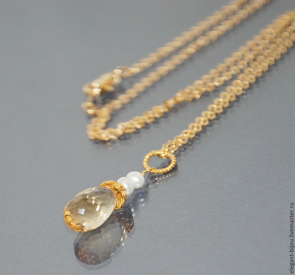 купить серьги серебро с золотом и жемчугом