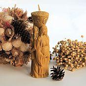 Ритуальная свеча ручной работы. Ярмарка Мастеров - ручная работа Ритуальная свеча: трехликая богиня луны. Handmade.
