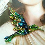 Украшения handmade. Livemaster - original item Hummingbird big. Handmade.