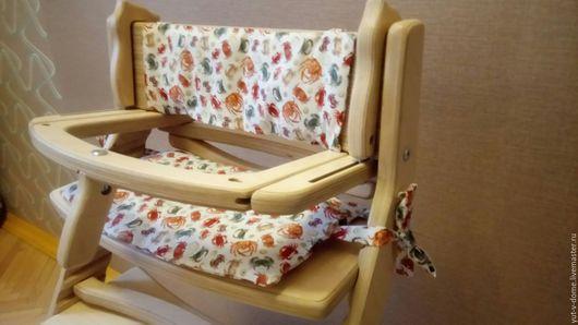 Детская ручной работы. Ярмарка Мастеров - ручная работа. Купить Подушка на детский стульчик. Handmade. Подушка, подушка на стул