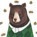 Лидия Лис - Bears With Numbers - Ярмарка Мастеров - ручная работа, handmade