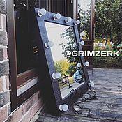 Для дома и интерьера ручной работы. Ярмарка Мастеров - ручная работа Гримёрное зеркало / зеркало с лампочками. Handmade.