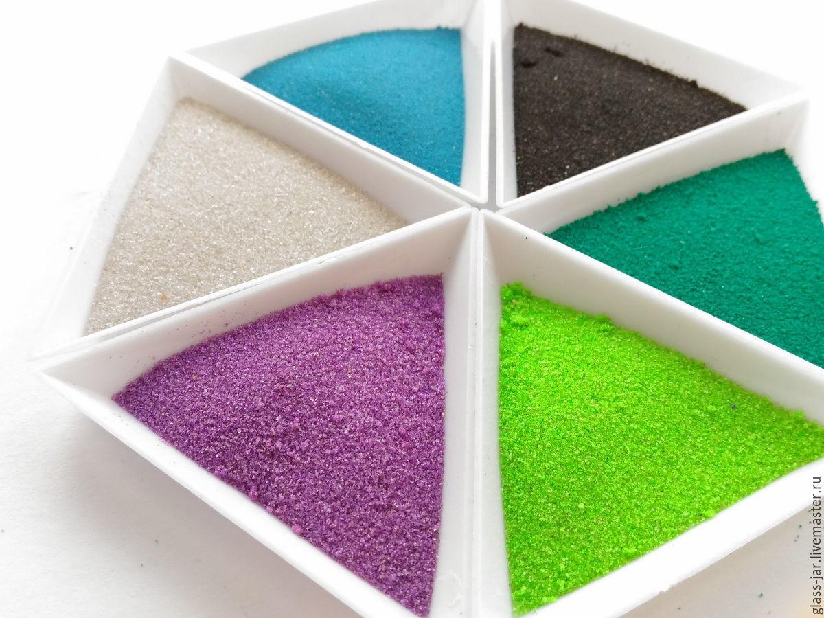 картинки с кварцевым песком разноцветные меню идеально