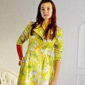 """Одежда ручной работы. Ярмарка Мастеров - ручная работа Летнее пальто """"Лимонное солнце"""". Handmade."""