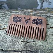 "Сувениры и подарки handmade. Livemaster - original item Гребешок из грецкого ореха ""Велес"". Handmade."