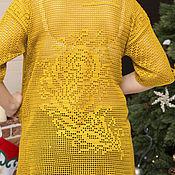"Одежда handmade. Livemaster - original item tunic ""Feather of the Phoenix"". Handmade."