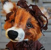 Куклы и игрушки ручной работы. Ярмарка Мастеров - ручная работа Лисичка Саманта. Handmade.
