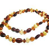 Работы для детей, handmade. Livemaster - original item Amber necklace beads amber jewelry Baltic amber adult gift to. Handmade.