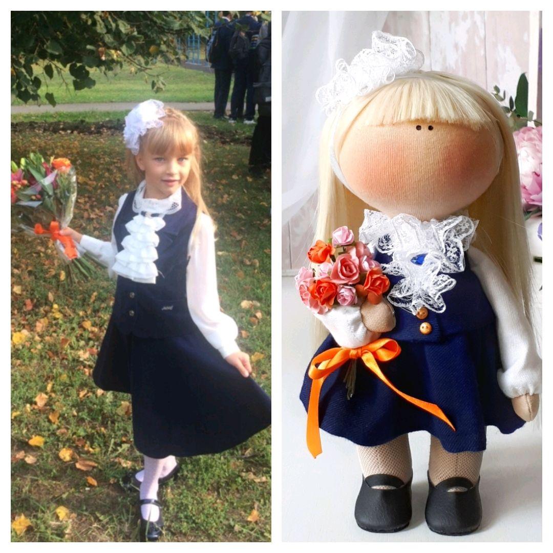 Кукла по фотографии Школьница, Куклы, Москва, Фото №1