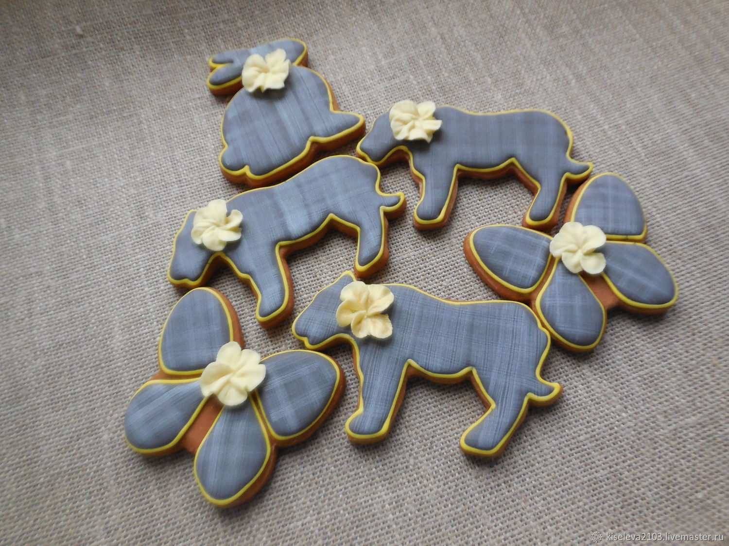 Gingerbread gingerbread in the style of Shabby chic, Gingerbread Cookies Set, Dubna,  Фото №1