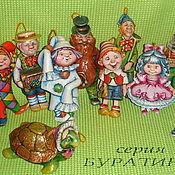 Подарки к праздникам ручной работы. Ярмарка Мастеров - ручная работа елочная  игрушка из папье-маше. Handmade.