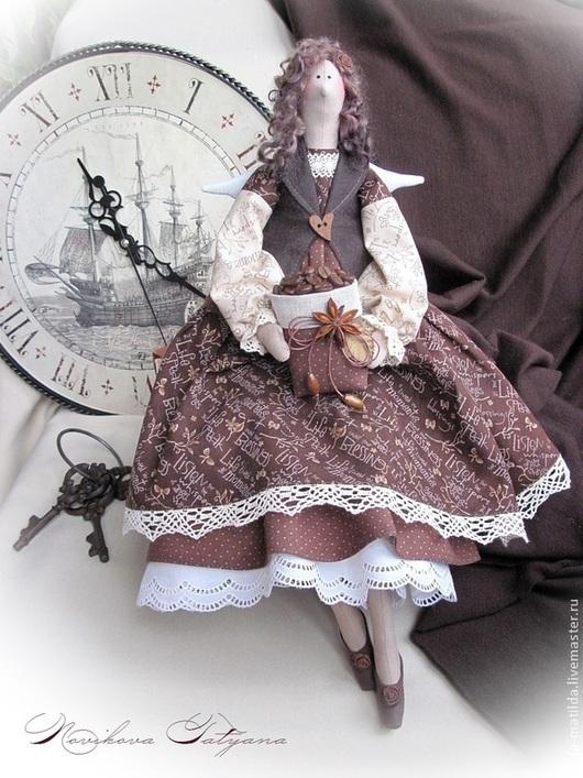 Кофейный ангел Кофейная фея Тильда Ангел Домашний ангел Домашняя фея Кукла тильда        Ангел тильда  Кофейный ангел тильда Подарок женщине Подарок на новоселье