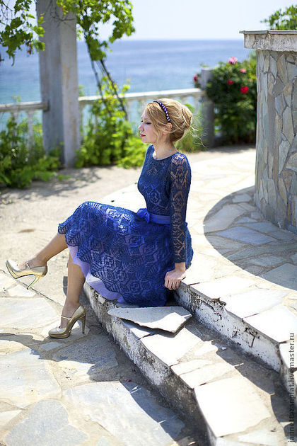 """Платья ручной работы. Заказать платье """" Гера"""". Jannetta knits  Luxury handmade. Ярмарка Мастеров. Вязаное платье"""