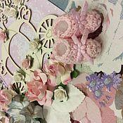 Сувениры и подарки ручной работы. Ярмарка Мастеров - ручная работа Альбом на годик, свидетельство о рождении. Handmade.