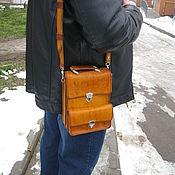 Сумки и аксессуары handmade. Livemaster - original item bag tablet leather. Handmade.
